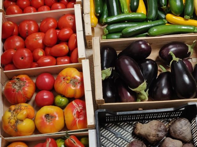 BHV 2.0 Légumes de notre maraîcher local #DuJardinAlassiette